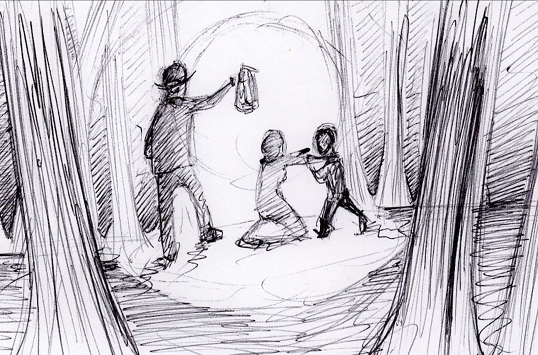 Embers & Dust Storyboard