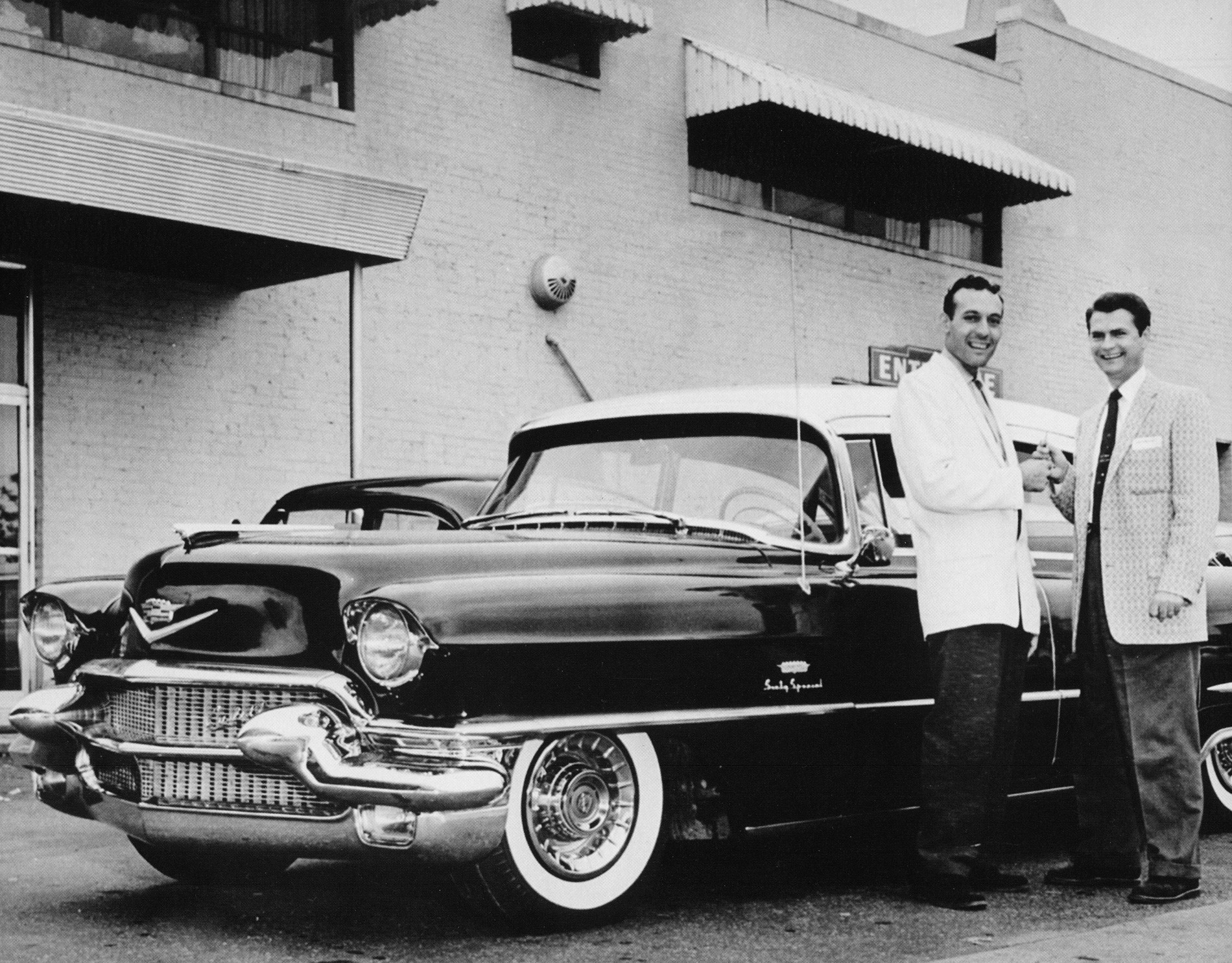 Carl Perkins and Sam Phillips