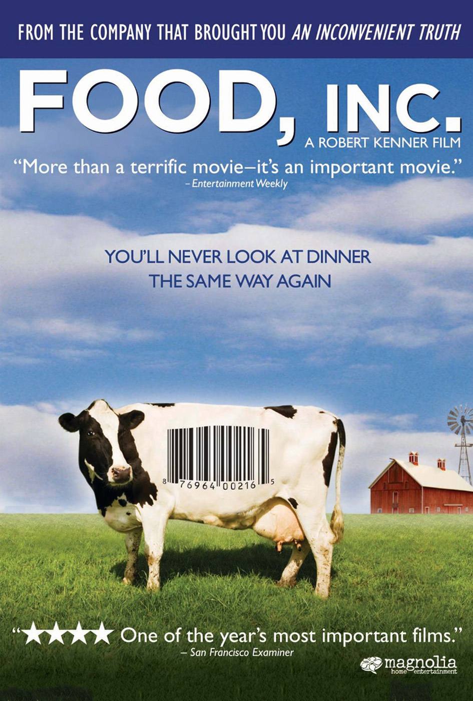 issues regarding food presented in the omnivores dilemma and the film food inc